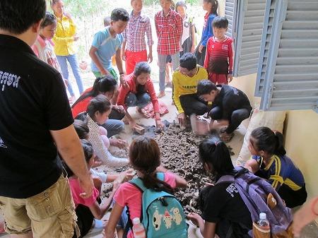 子どもたちに有機肥料作りを教える理由