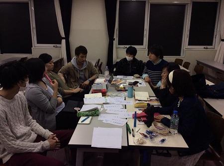 4/12、ユースチームのミーティングを行いました