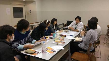 ミーティングには代表理事の甲斐田も一部参加しました