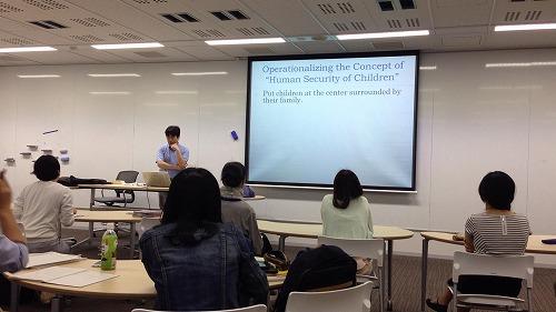 勝間靖先生が子どもの安全保障の理論を図で説明してくださいました。