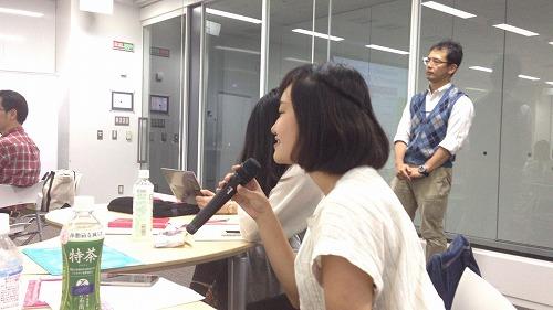 ユースのメンバーも積極的に質問していました。