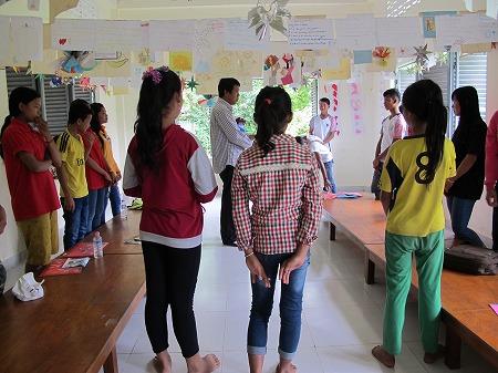 ピア・エデュケーター(子ども代表)へのトレーニングワークショップ実施・2日目