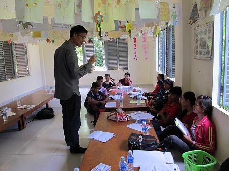 ピア・エデュケーター(子ども代表)へのトレーニングワークショップ~「人身売買」と「児童労働」