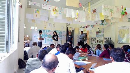 「子どもの権利促進事業」をより充実させるために~参加型ワークショップ開催1日目