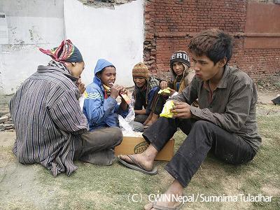 CWINの支援活動(1)