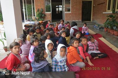 ネパール大地震緊急支援ご協力のお願い
