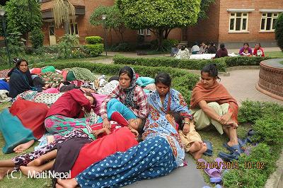 マイティネパールの支援活動(2)