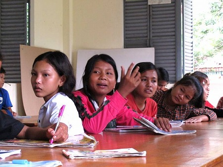子どもたちによる子どもたちのための「読み書き教室」をはじめました
