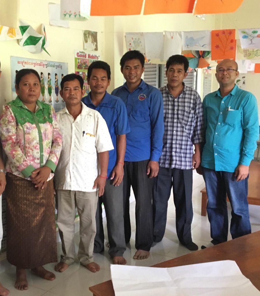 カンボジアモニタリング報告③地域の協力者とのミーティング