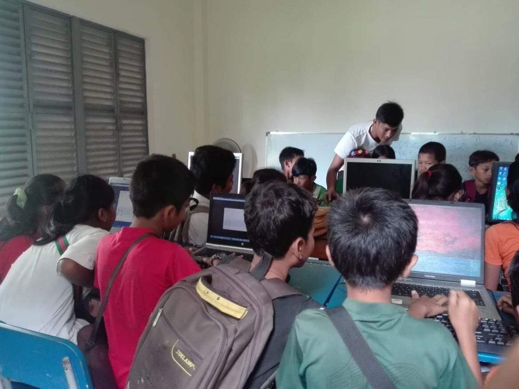 カンボジアの活動の様子